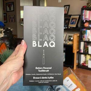 Blaq Black Battery Powered Toothbrush.  New!!